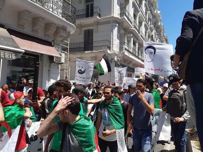 الجزائرـ في مسيرتهم الـ16: الطلبة بصوت واحد  دولة مدنية لا عسكرية  — TSA عربي