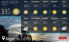 Les prévisions météo du mercredi 26 juillet