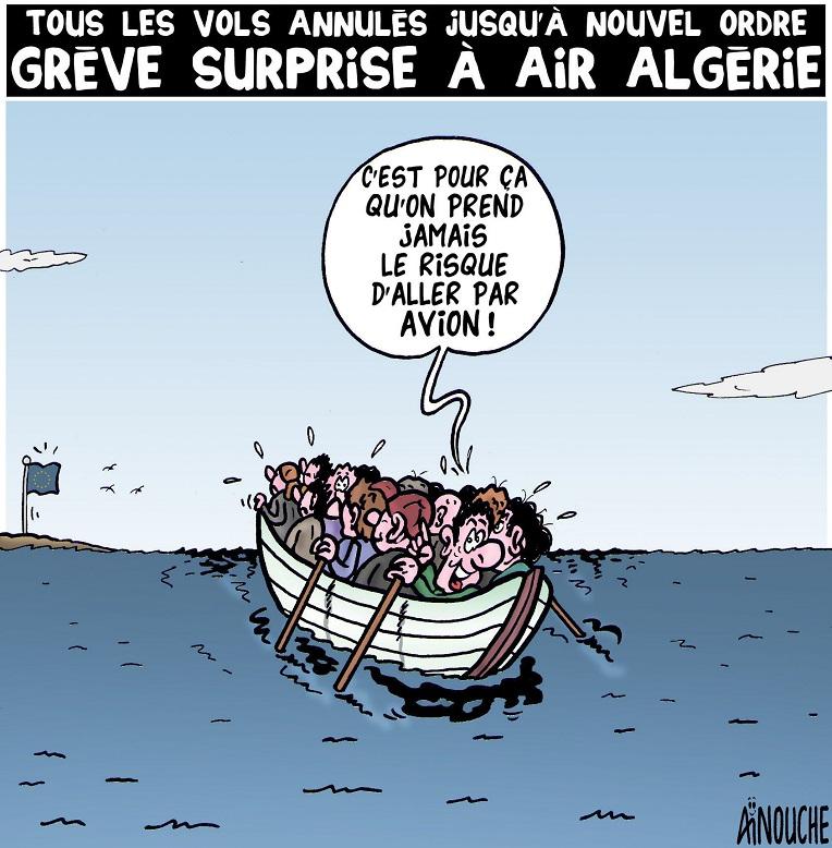 Grève surprise à Air Algérie — TSA