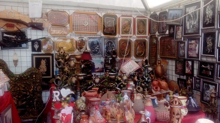 De beaux objets d\'artisanat exposés à la Grande-Poste d\'Alger — TSA