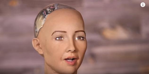 Intelligence artificielle : un robot humanoïde va s'exprimer lors d'un Congrès — TSA