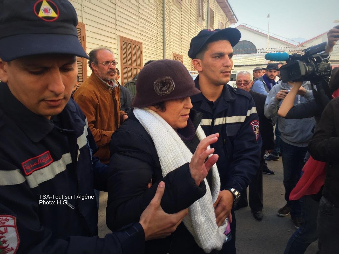 Hadda Hazem met fin à sa grève de la faim