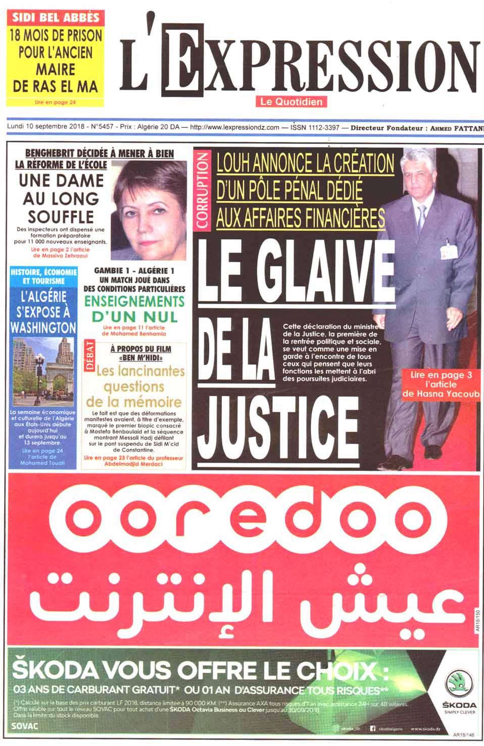 les journaux algeriens gratuit