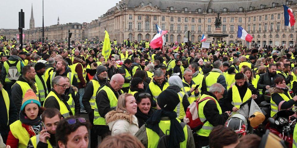foto de Mouvement des Gilets jaunes en France : des similitudes