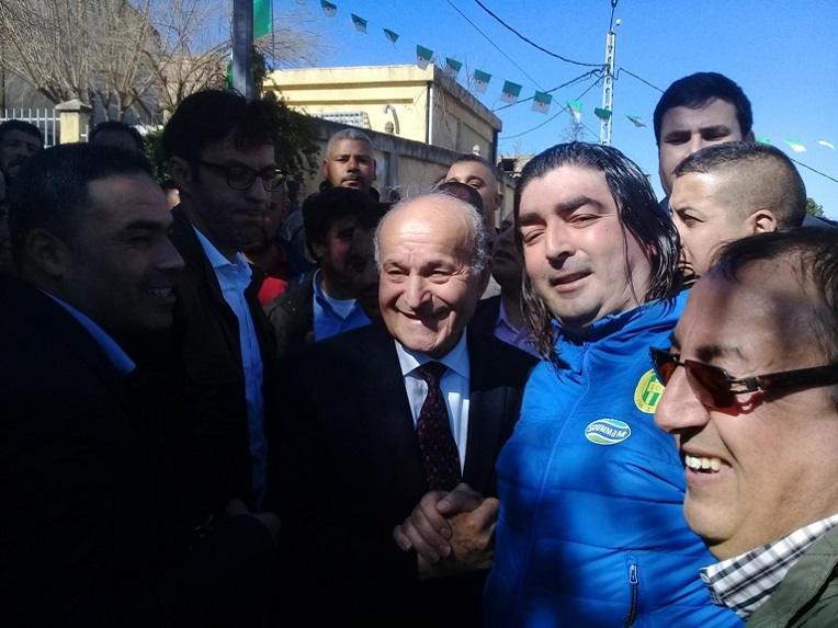 Cherif Mellal agressé à Tizi Ouzou