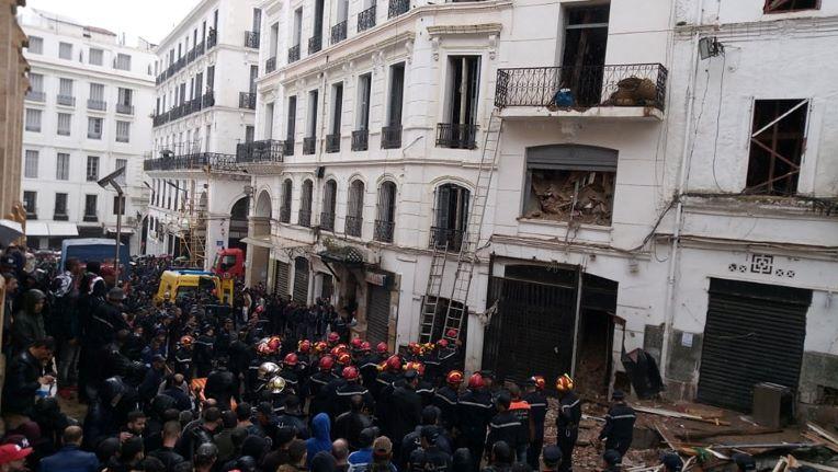 Cinq personnes d'une même famille tuées dans l'effondrement d'un immeuble — Alger