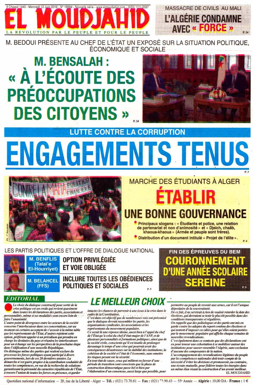 Bono Gratis Con Rollover Robux Hack Algerie Politique La Revue De Presse Du Mercredi 12 Juin 2019 Pressia