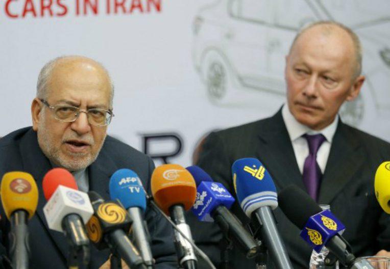 Renault signe un accord de 660 millions d'euros en l'Iran