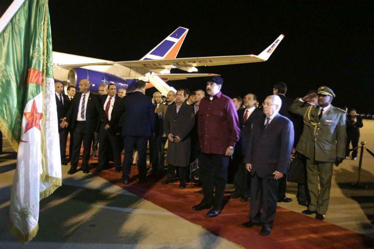 Le président vénézuélien Nicolas Maduro en visite à Alger — Diplomatie