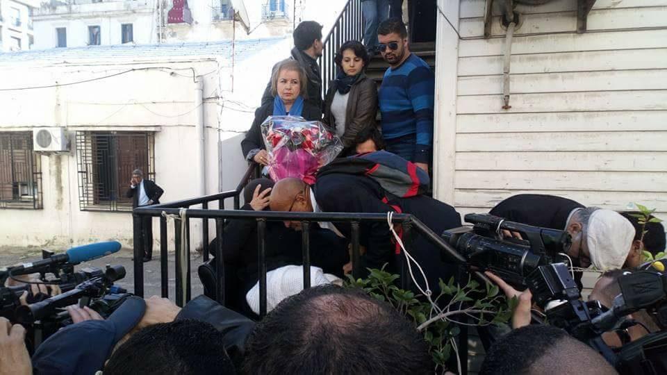 Hadda Hazem a suspendu sa grève de la faim