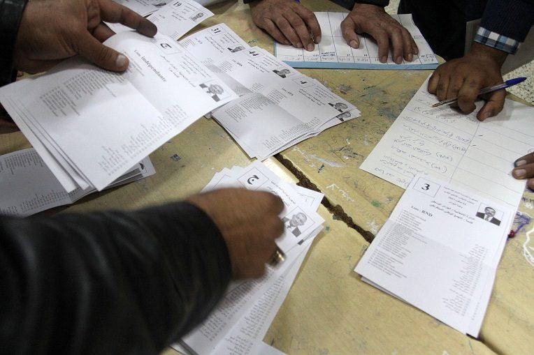 Le président Bouteflika vote à El-Biar