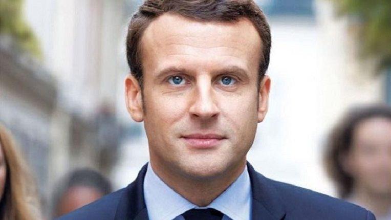 France : Le nouveau président Emmanuel Macron entre à l'Élysée